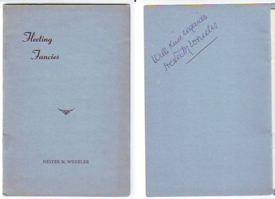Image for Fleeting Fancies (signed)