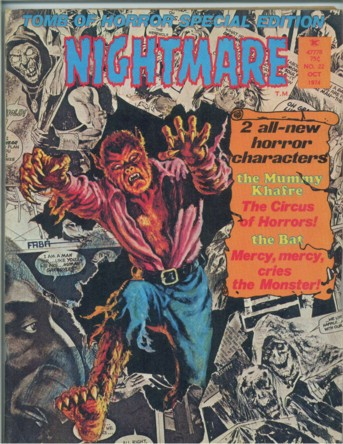 Image for Nightmare No. 22, October/Oct. 1974/'74 (signed)