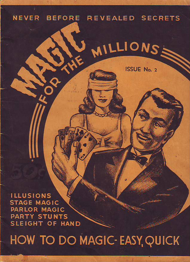Image for MAGIC FOR THE MILLIONS, Issue Number Two (No. 2)