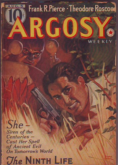 Image for ARGOSY, Aug./August 5, 1939, Volume 292, No. 3