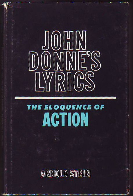Image for JOHN DONNE'S LYRICS, The Eloquence of Action