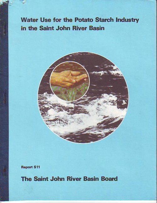 Image for Water Use for the Potato Starch Industry in the Saint John River Basin