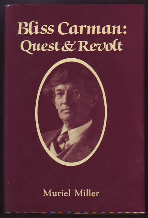 Image for Bliss Carman:  Quest & Revolt