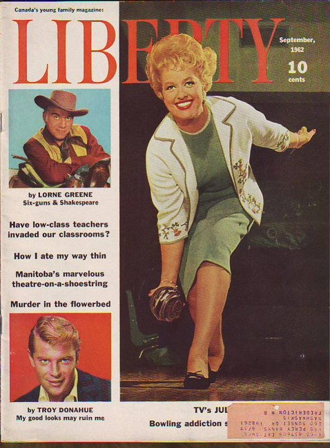 Image for Liberty, September 1962