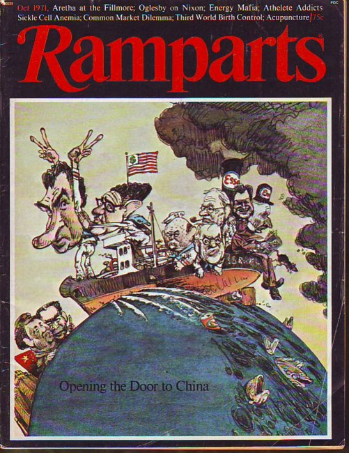 Image for Ramparts, Vol. 10, No. 4, October/Oct. 1971