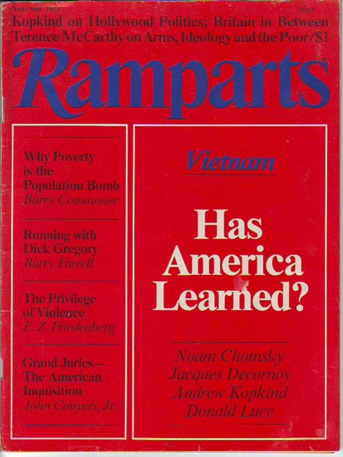 Image for Ramparts, Vol. 13, No. 10, August-September/Aug.-Sept. 1975
