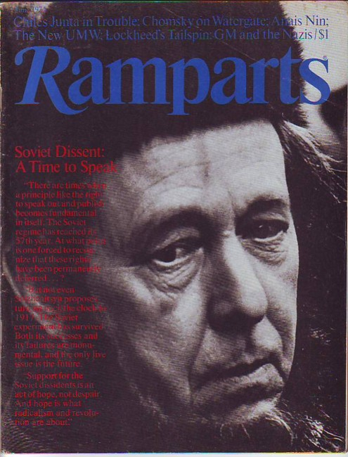 Image for Ramparts, Vol. 12, No. 11, June 1974