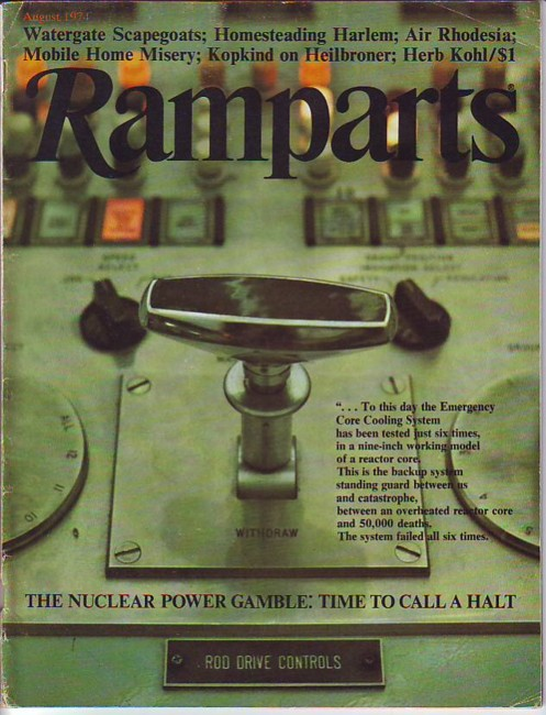 Image for Ramparts, Vol. 13, No. 1, August/Aug. 1974