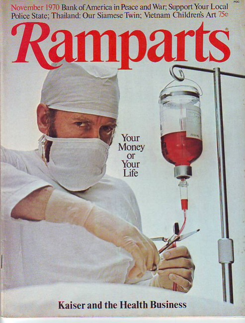 Image for Ramparts, Vol. 9, No. 5, November/Nov. 1970