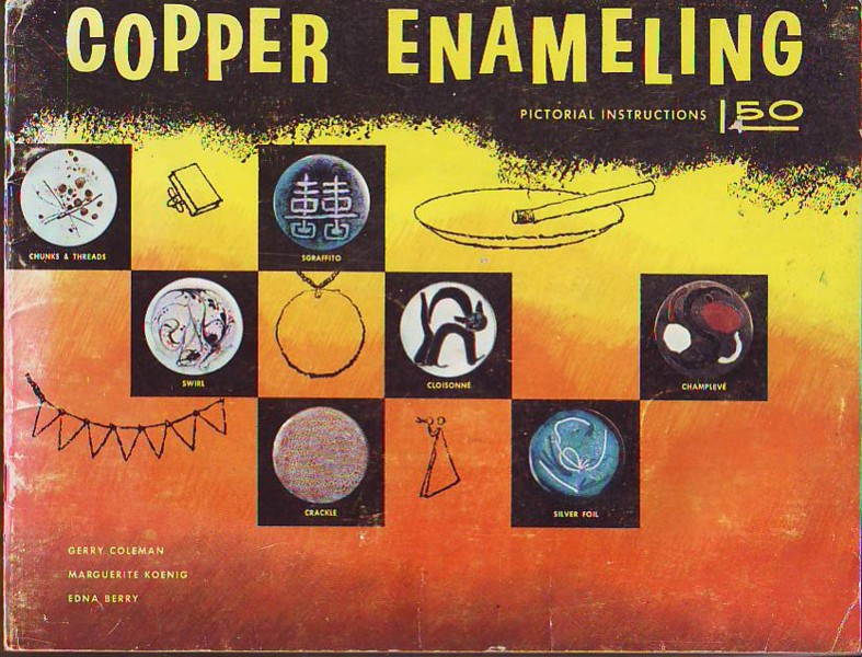Image for Copper Enameling (Enamelling), Pictorial Instructions
