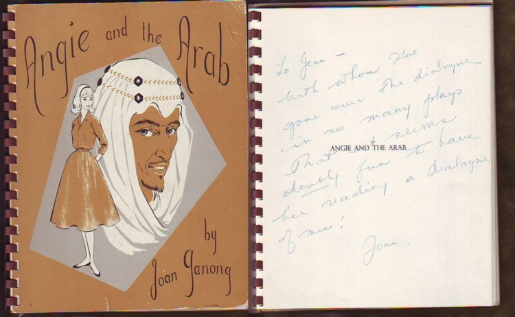 Image for Angie and the Arab (signed)