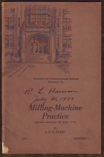 Image for Milling-Machine Practice