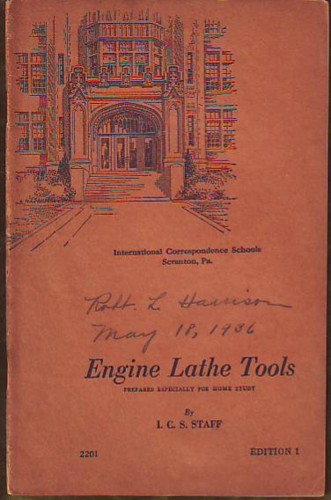 Image for Engine Lathe Tools