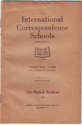 Image for Air-Signal System, Instruction Paper with Examination Questions