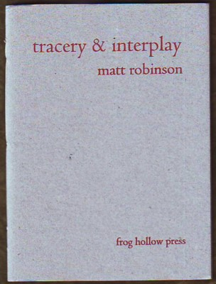 Image for Tracery & Interplay (signed)