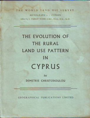 Image for The Evolution of the Rural Land Use Pattern in Cyprus