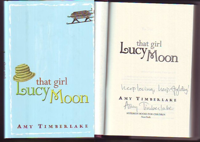Image for That Girl Lucy Moon (signed)