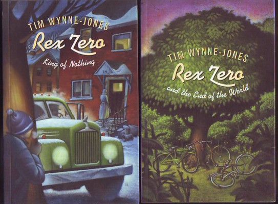 Image for REX ZERO AND THE END OF THE WORLD, and REX ZERO, KING OF NOTHING (signed copies)
