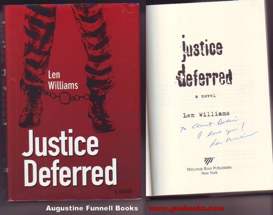 Image for Justice Deferred (signed)