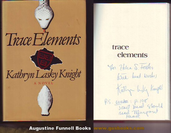 Image for Trace Elements (signed)