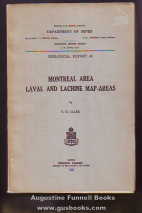 Image for Montreal Area, Laval and Lachine Map-Areas