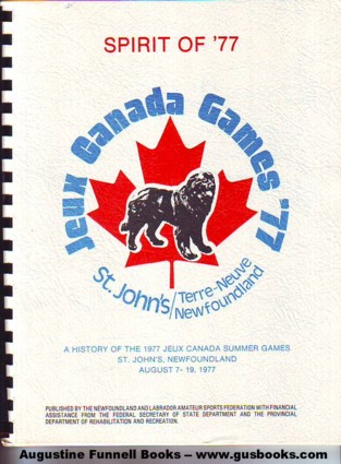 Image for Spirit of '77, Jeux Canada Games '77