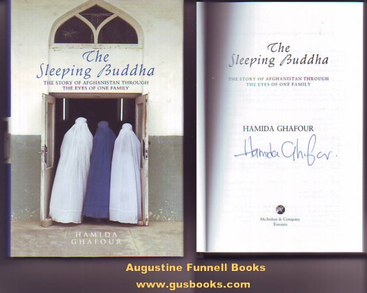 Image for The Sleeping Buddha, The Story of Afghanistan Through the Eyes of One Family (signed)
