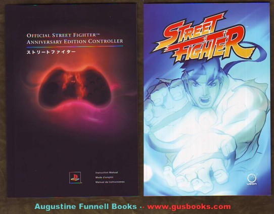 Image for Official Street Fighter Anniversary Edition Controller / Instruction Manual