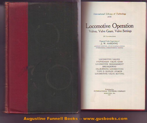 Image for LOCOMOTIVE OPERATION, Valves, Valve Gears, Valve Settings
