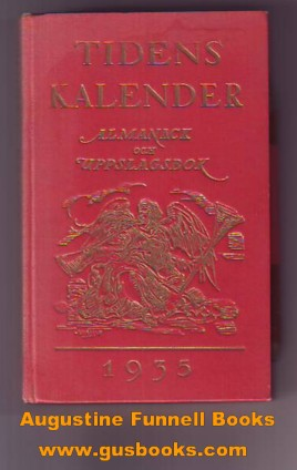 Image for Tidens Kalender 1935