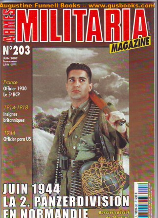 Image for Armes Militaria Magazine, No. 203, Juin 2002