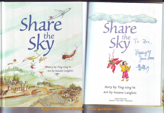 Image for Share the Sky (signed)