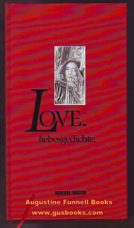 Image for Love.  liebesgedichte. (signed)