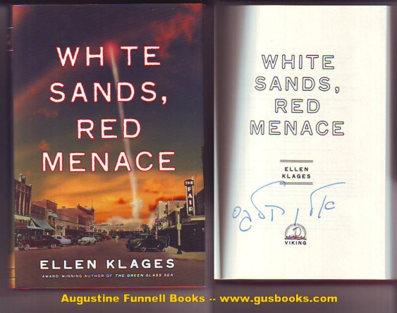 Image for White Sands, Red Menace (signed in Hebrew)