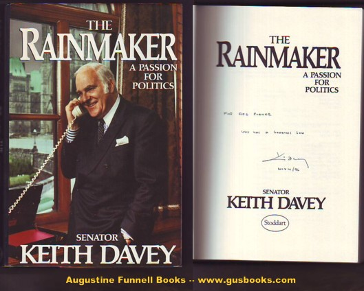 Image for THE RAINMAKER, A Passion for Politics (signed)