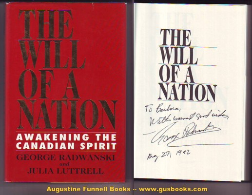 Image for THE WILL OF A NATION, Awakening the Canadian Spirit (signed)