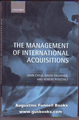Image for The Management of International Acquisitions