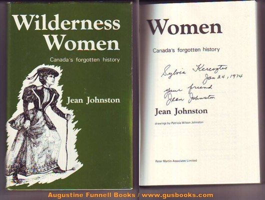 Image for WILDERNESS WOMEN, Canada's forgotten history (signed)