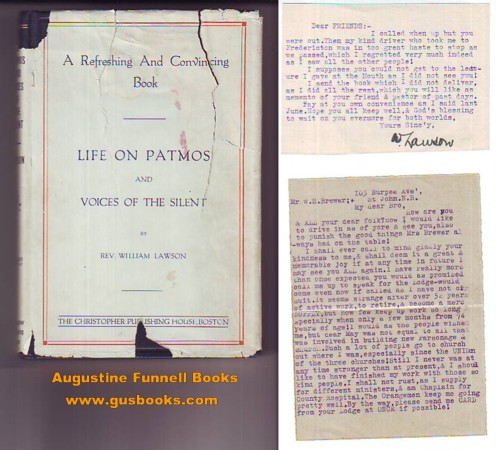 Image for LIFE ON PATMOS and Voices of the Silent (signed letter laid in)