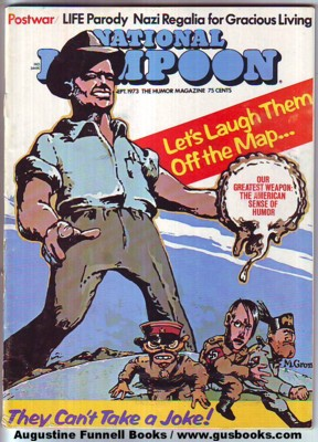 Image for National Lampoon, September/Sept. 1973, Postwar issue