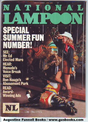 Image for National Lampoon, July 1984, Special Summer Fun Issue