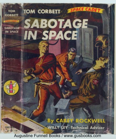 Image for Sabotage in Space, Tom Corbett Space Cadet #7