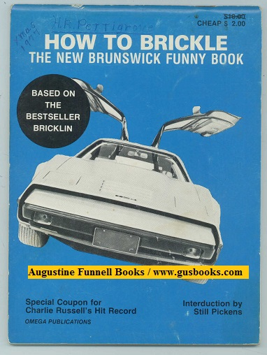 Image for HOW TO BRICKLE, The New Brunswick Funny Book