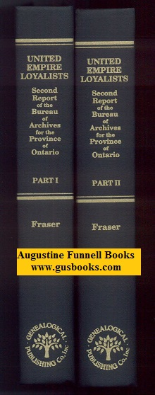 Image for Second Report of the Bureau of Archives For the Province of Ontario 1904, Part I & Part II (United Empire Loyalists)