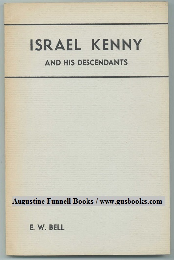Image for ISRAEL KENNY, His Children and Their Families