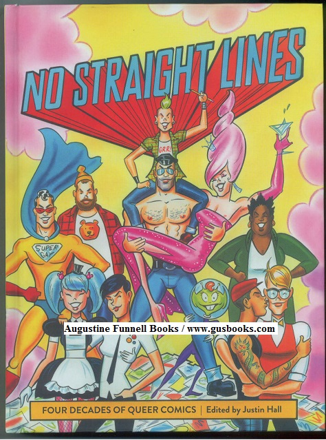 Image for NO STRAIGHT LINES, Four Decades of Queer Comics