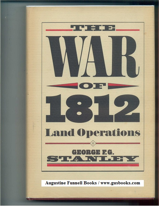 Image for THE WAR OF 1812, Land Operations (signed)