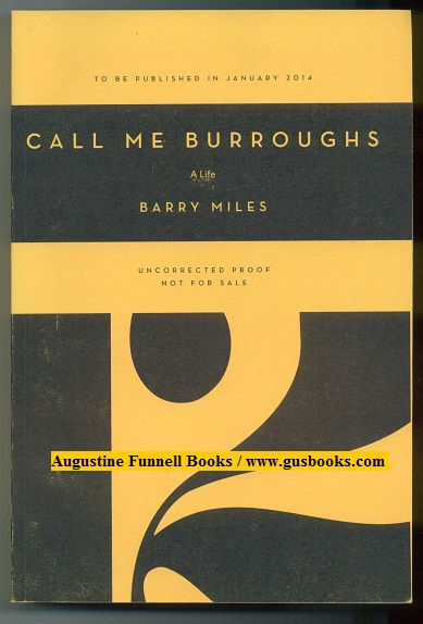 Image for CALL ME BURROUGHS, A Life