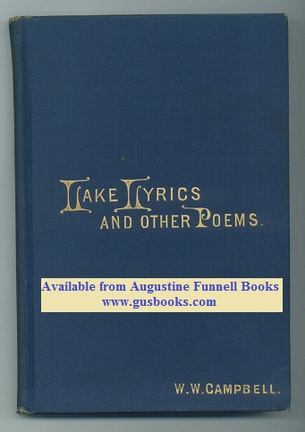 Image for LAKE LYRICS and Other Poems