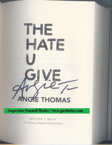 Image for The Hate U Give (signed)